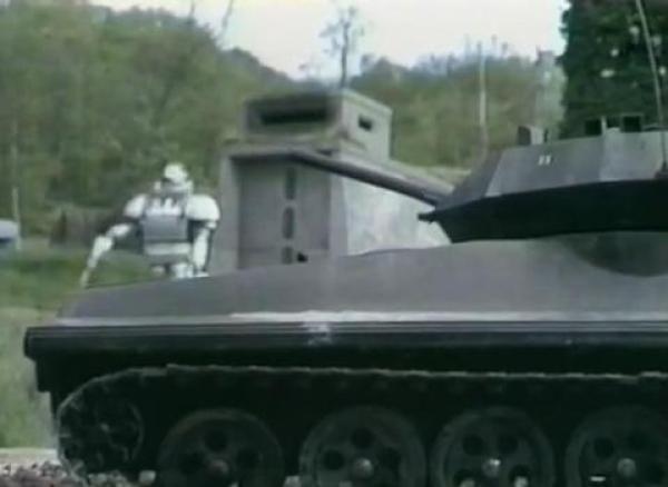 Action Man Scorpion Tank