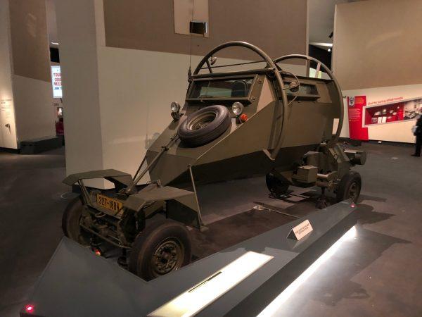 Leopard Security Vehicle