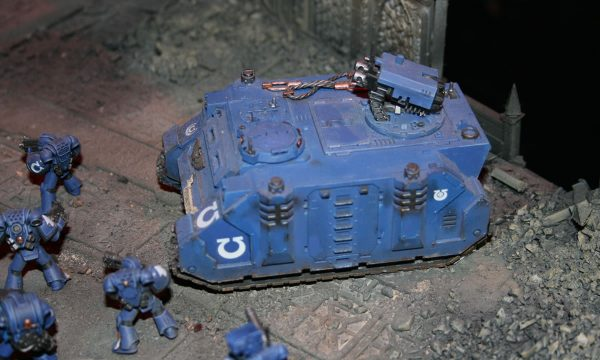 Space Marine Ultramarines Razorback