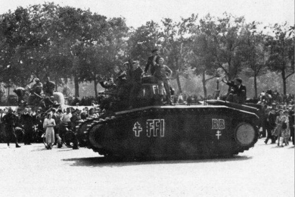 B1-bis captured by FFI (Forces Françaises de l'Intérieur), battle of Paris, August 1944.