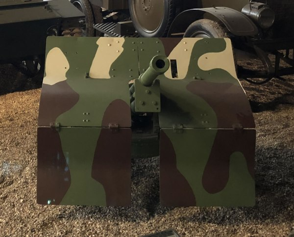 Polish 3.7cm Bofors Anti-Tank Gun
