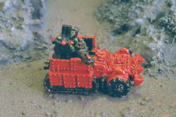 Ork Flagwagon with Gunners