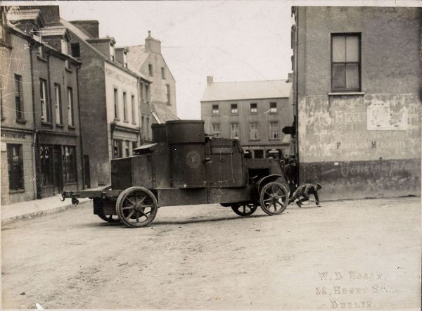 Peerless Armoured Car in Cork in 1922