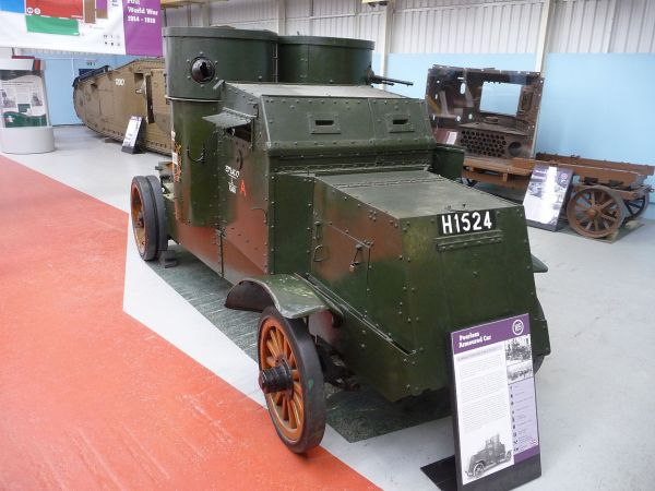 Peerless Armoured Car