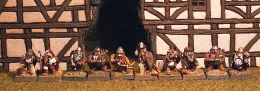 Dwarf defence line