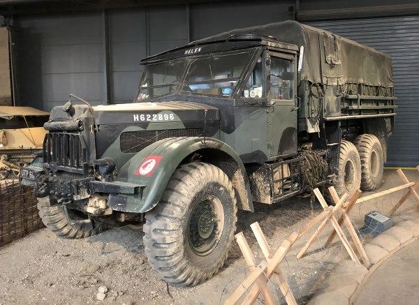 Albion CX22S Heavy Artillery Tractor