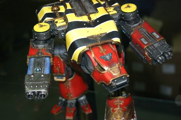 Pre-Heresy Warhound Titan