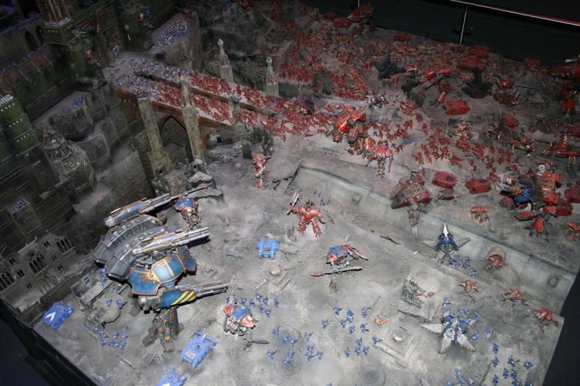 Diorama at Warhammer World