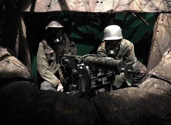 World War One German Heavy Machine Gun Nest
