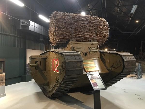 Mark IV Tank with Fascine