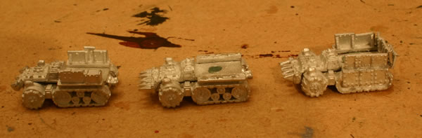 Ork Airfield Defence Vehicles