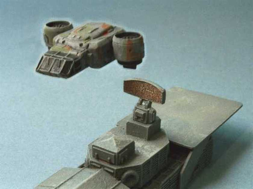 VTOL Dropship and Landing Craft
