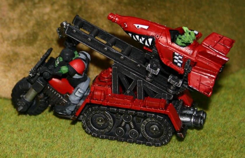 Warhammer 40K Grot Bomb Launcha