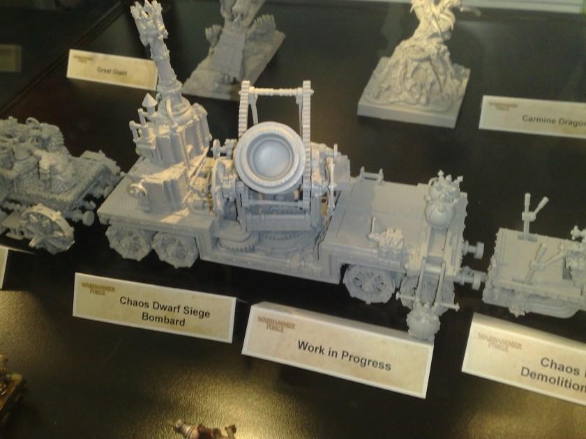 Chaos Dwarf Siege Bombard