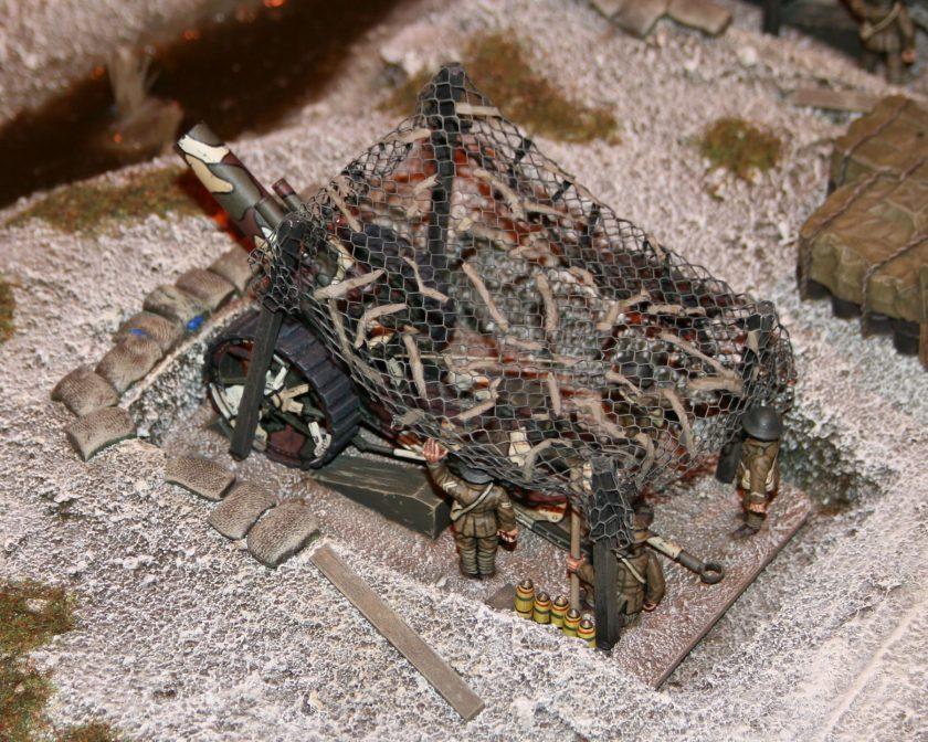 Heavy British Artillery Gun