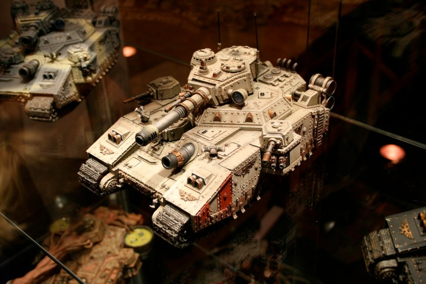 Vostroyan Baneblade on display at GamesDay 2007.