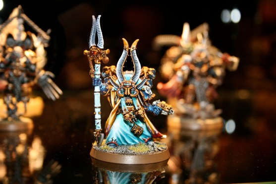 Ahriman of the Thousand Sons from GamesDay 2007.