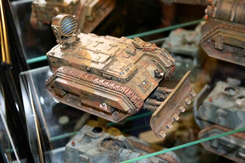Trojan support vehicle