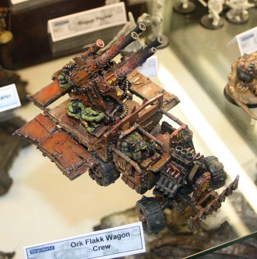 Forge World Ork Flakk Wagon taken at GamesDay 2008