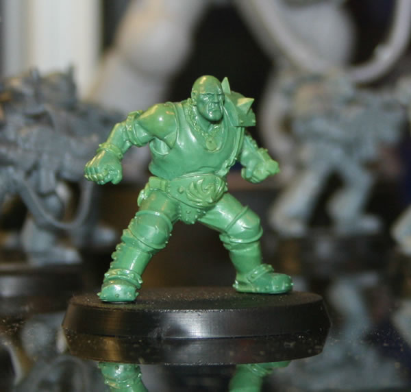 One of the miniatures on display at GamesDay 2008 was The Mighty Zug.