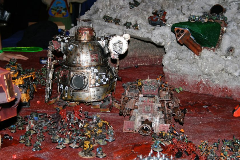 Scratchbuilt Stompa from GamesDay 2008.
