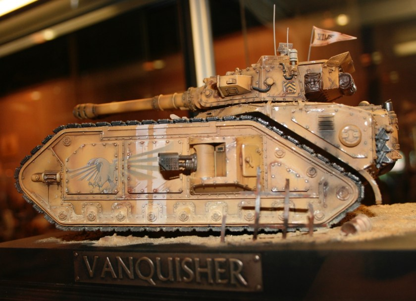 Forge World Macharius with Vanquisher Cannons