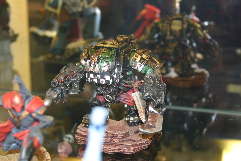 Forgeworld Large Scale Ork Warboss in Mega Armour
