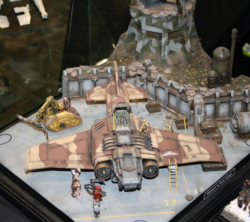 Mark Bedford's excellent Thunderbolt diorama.