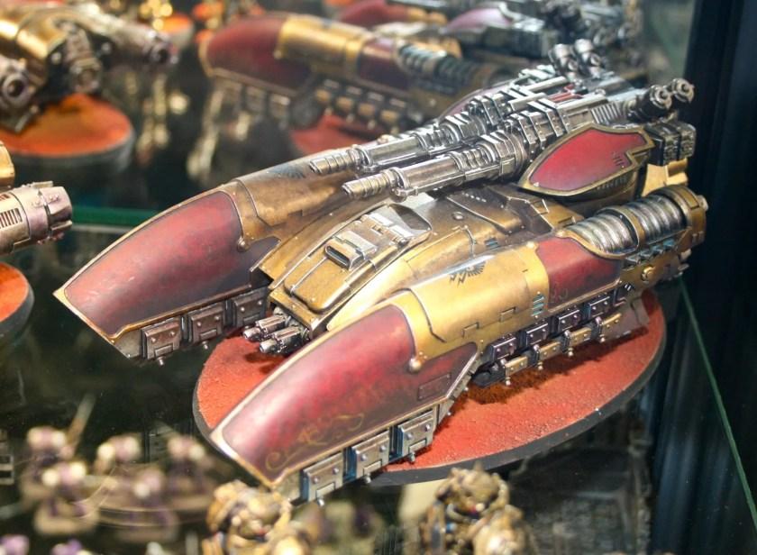 Legio Custodes Caladius Grav-Tank