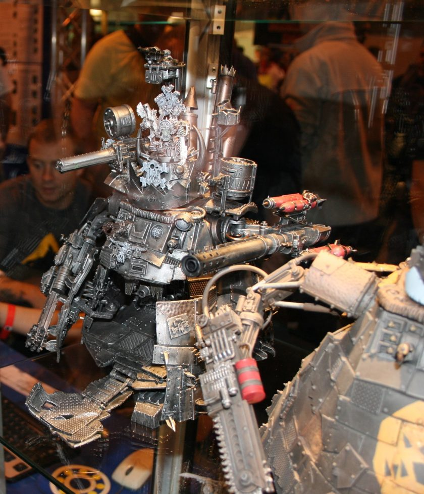 Stompa on display at GamesDay 2009
