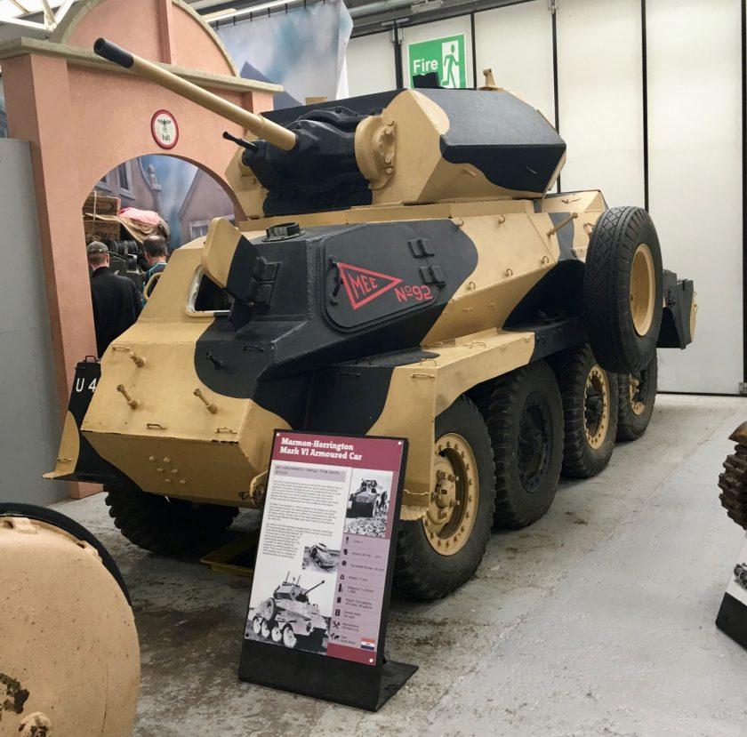 Marmon-Herrington Mark VI Armoured Car