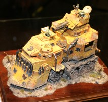 Bright Yellow Battlewagon from Golden Demon at GamesDay 2009