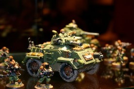 Imperial Guard Chimera Armoured Car (conversion)