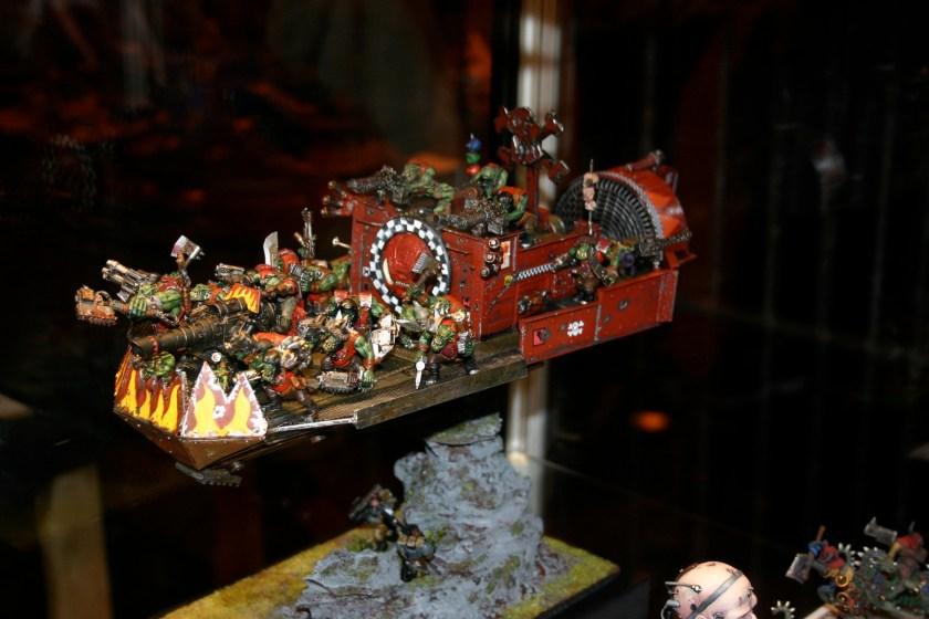 Ork Battle Fortress (Variant) -A UK 2006 Golden Demon entry.