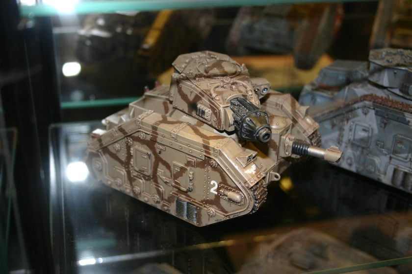 Leman Russ Executioner from the Forgeworld displays at GamesDay 2006.