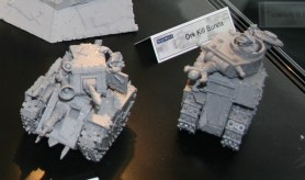 Forge World Grot Tanks.