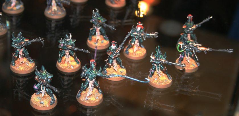 Dark Eldar Kabalite Warriors at GamesDay 2010.