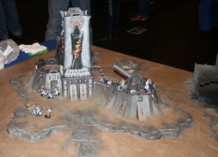 Fortress of Redemption from GamesDay 2010.
