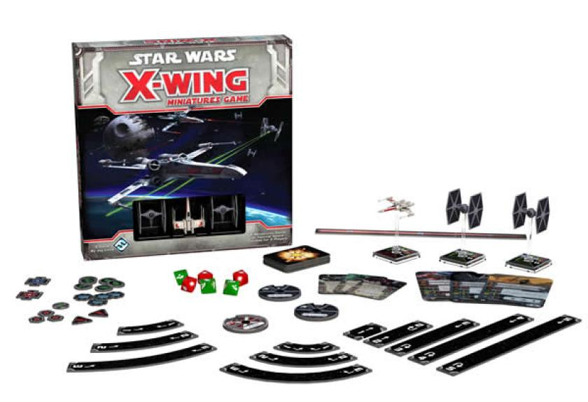 X-Wing boxed set contents