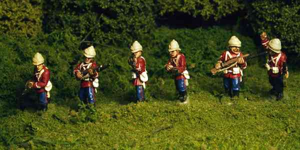 British Colonial Infantry