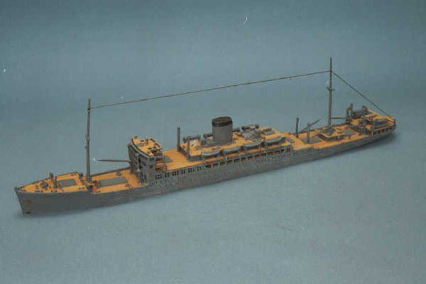 WWII Coastal Liner