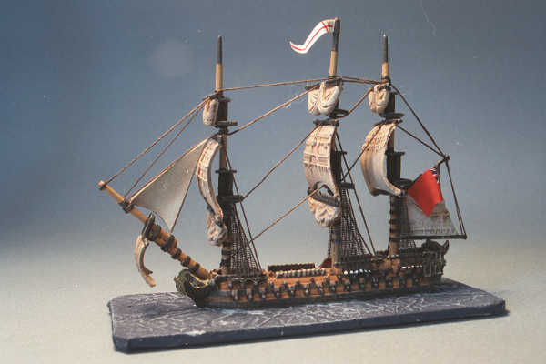 British 64 Gun Ship of the Line