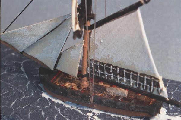 British Cutter - close up