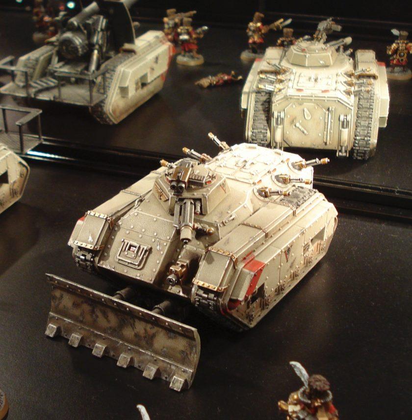 Imperial Guard Vostroyan Chimera at Warhammer World.