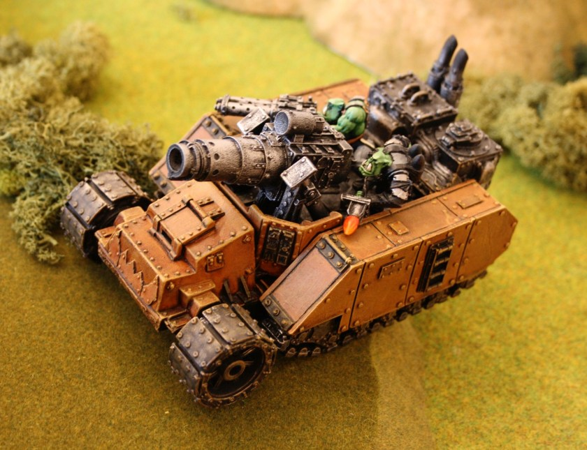 Ork Gunwagon with Kannon from Felix's collection