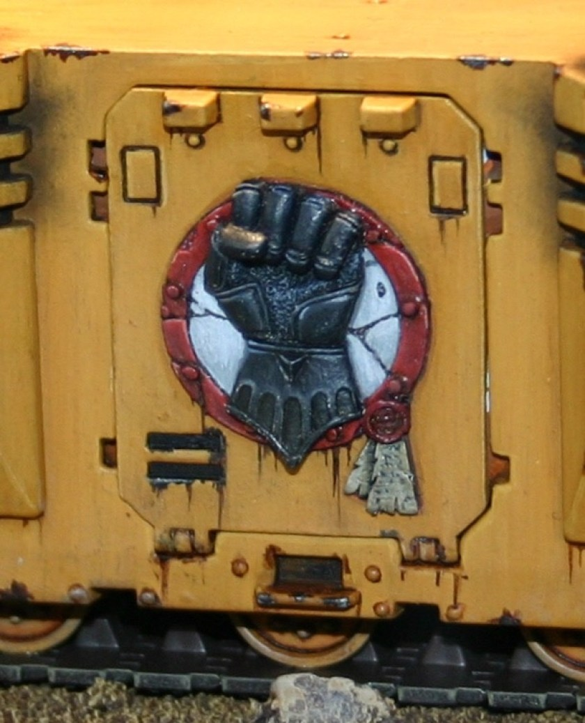 Forgeworld Imperial Fists door