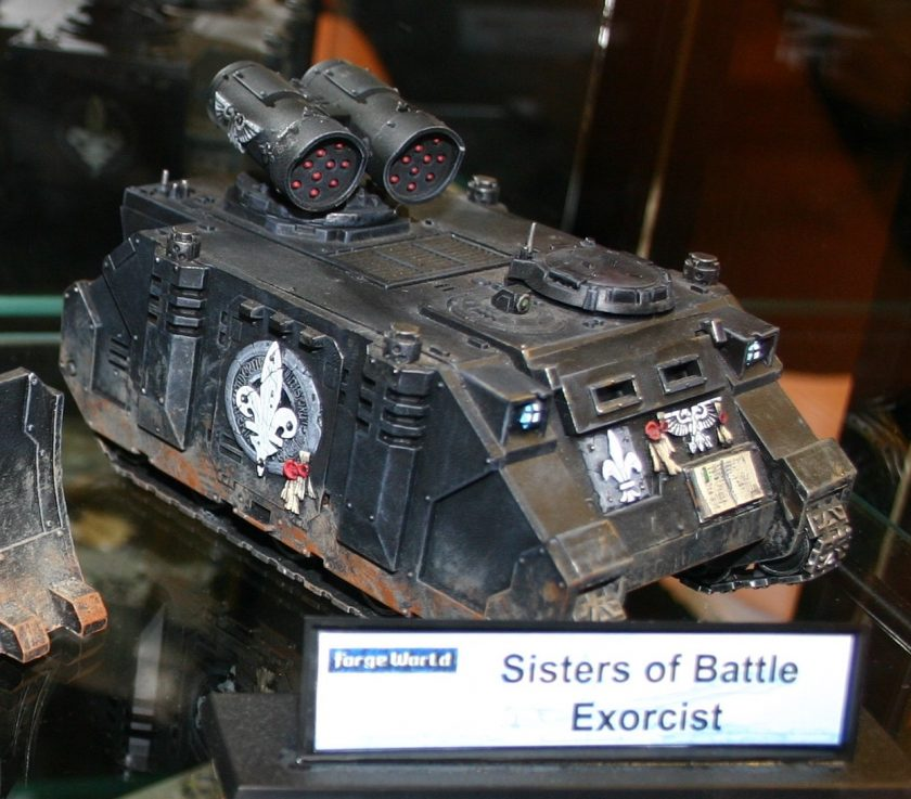 Sisters of Battle Exorcist