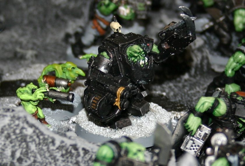 Ork Warboss in Mega-Armour