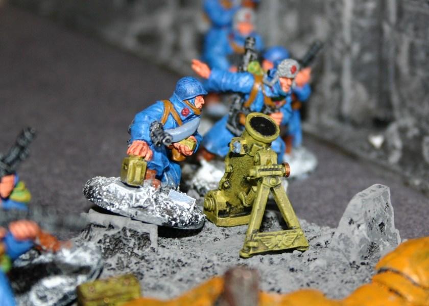 Imperial Guard Mortar