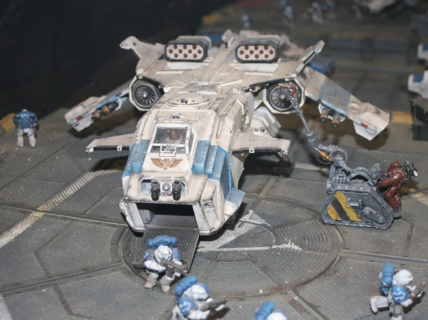 Space Marine Storm Eagle